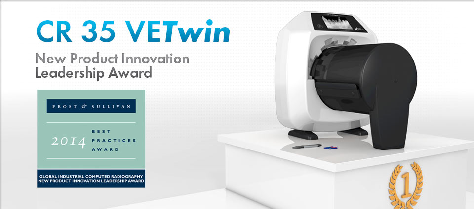 01.09.20143 - CR 35 VETwin - New Product Innovation Leadership Award