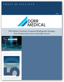 DÜRR MEDICAL - FROST and SULLIVAN New Product Innovation Leadership Award - write-up