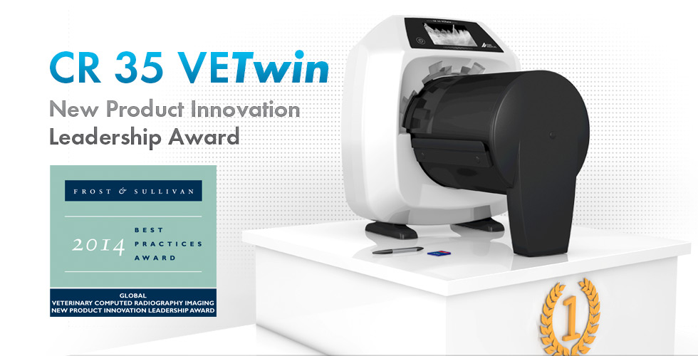 CR 35 VETwin - New Product Innovation Leadership Award