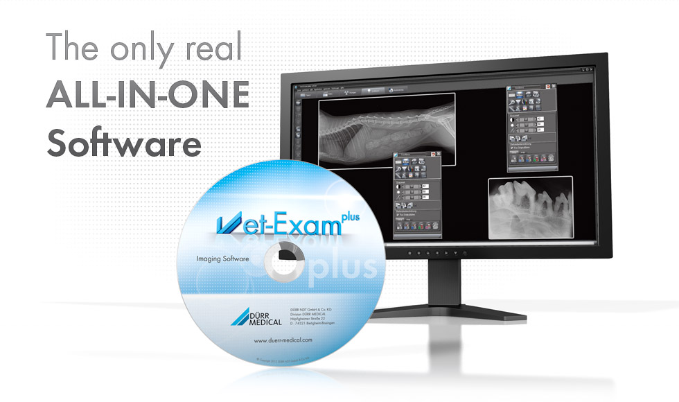 The only real ALL-IN-ONE VET Software